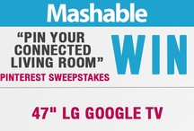 Your Connected Living Room / Repin the entry pin, one product pin and four pins of your choice to enter!  Check out this post - http://on.mash.to/WDxjE5 - for full details and to sign up. / by Mashable