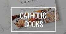 Catholic Cooks / Many Catholic cultures have special meals and desserts to go along with liturgical celebrations and saint feast days. When we find them on Pinterest, we repin them here.
