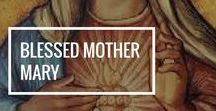 Blessed Mother Mary / Holy Mary, Mother of God, pray for us sinners, now and at the hour of our death. This board is here to inspire you, and to help you grow in love for Our Lady through art, quotes, gift ideas, and more!