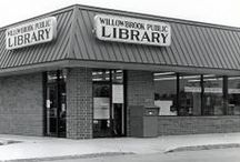 Local History Willowbrook Public Library / In 1979, the Village of Willowbrook received a $77,000 Project Plus Project grant for a trial library. The Project Library opened April 16, 1980 at 305 West 75th Street in the Willow Commons Shopping Center. In October 1980, residents approved the creation of the Willowbrook Public Library District. On July 1, 1988, the Willowbrook and Darien Public Libraries merged to form the Indian Prairie Public Library District. / by Indian Prairie Public Library