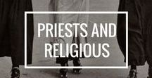 Priests and Religious Life / Celebrating a life devoted entirely to Jesus Christ. These men and women prayerfully intercede for all the souls on earth and in purgatory! It is a life of joyful service and loving consecration to God.