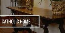 Catholic Home / Inspirational home decor and design ideas - perfect for the religious home! Show your faith.