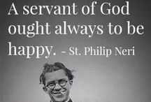 Catholic Saint Quotes / Inspirational words of wisdom from the saints and blesseds of the Catholic Church.