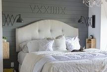 Master Bedroom Inspiration / by Rebecca Doubleu