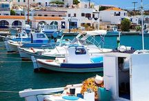 Greece / I've been to Rhodos, Crete and Kos, but Kalymnos and especially Lipsi are my favorites. Small cosy places easy accesible by boat from Kos. The picture with the windmill is actually a hotel I've stayed in. Greece is really beautiful