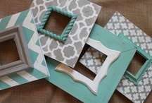 Frames, Pics and more / All things that would hang on the wall. / by Sheri Winona
