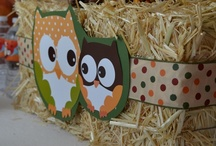 Fall Owl Baby Shower Theme Ideas / Great ideas to compliment our Fall Owl Baby Shower theme! / by Candles & Favors