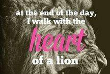 Leo / Let the Lion in me Roar