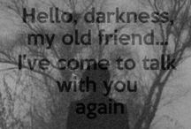 Hello Darkness My Old Friend / (What I Refer to as My Depression) What I Feel..mental illness awareness...Depression Awareness...My Blog: Positively Depressed at beingpositivewithadepressivesoul.blogspot.com