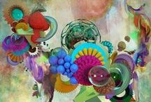 Artsy / Illustrations of Art...wildly different, awesomely abstract