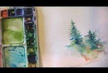 Watercolor Lessons / by Sheri Winona