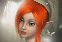 Art of Redheads / Artsy Redheads