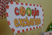 Cookie Exchange Party / What a fun idea for either a kid party or adult party during the holiday season. / by Candles & Favors