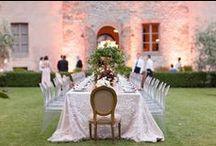 Inspiration board - Gigi & Ramzi Wedding  / August 2014