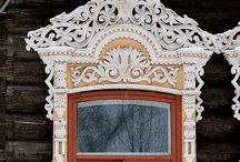 Gingerbread & Painted Ladies / Elaborate embellishments. / by Mark Stone