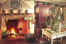 Country/Colonial/Primitive Kind of Christmas / ~ / by Susan Huskinson