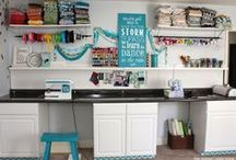craft room / by Hannah Schott