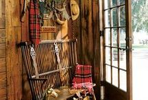 Back Door Mud & Boot Rooms / by Susan Huskinson