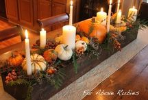 Thanksgiving Centerpieces / Ideas we love for your Thanksgiving table / by Candles & Favors