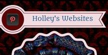 Holley Jacobs Website Designs / These are websites that I have designed either for a company or person, myself, or just to use a new software I come across. Some of these websites are kept up to date while others are meant to represent my website designs on a general level. Contact me if interested in exploring an exciting new venture with me. Regards,   ~Holley Jacobs #websites