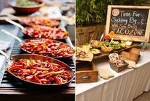 Order Up! / Need to feed a crowd? These are some of our favorite self serve bars and food stations! / by Candles & Favors