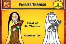 Saint Celebrations / teach child