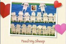 Good Shepherd and Sheep / teach and inspire