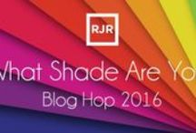 What Shade are You Blog Hop 2016 / This board features all the projects our guest blog designers made using our cotton supreme solids for our #quiltwithlove blog hop.