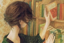 """books are a uniquely portable magic / """"The stories we love best live in us forever."""" - JK Rowling / by Lainee Spiers"""