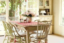 Dining Rooms / Indoors and Outdoors
