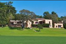 Calif. Vacation Rental Home  / Casa de la Estrella, Pebble Beach CA on the second fairway of the Pebble Beach Golf Links    / by Maureen Bray,Room Solutions Staging
