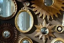 Mirrors / Mirrors add glam to any room!