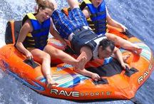 Towables / Have a blast on a RAVE towable this summer.We focus our boat tubes on quality and unique design.