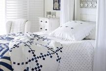 Quilts - Blue and White