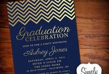 invos graduation / invitations for graduations / by Lizzy Jimenez