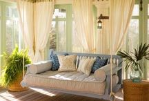 It's A Porch Thing!! / Lovely Porches / by Sharice Perkins