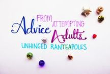 << Attempting Adulthood Wednesdays >> / Advice From Attempting Adults (be this study tips, lifehacks, etc.)