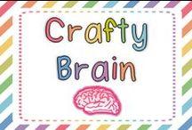 Crafty Brain / by FirstGradeBrain (Ashley Magee)