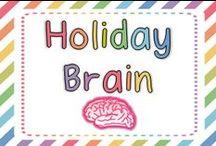 Holiday Brain / by FirstGradeBrain (Ashley Magee)