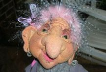 STUFFED-TROLLS / THANK YOU to ALL for sharing these amazing works !!! / by Lorie Baran