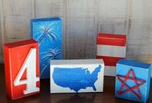4th of July Crafts / Patriotic Crafts, 4th of July crafts, memorial day projects, 4th of july crafts for preschoolers, 4th of july kids crafts, easy 4th of july crafts, fourth of july art, fourth of july ideas, veterans day craft, veterans day crafts, memorial day craft ideas, fourth of july party ideas, 4th of july activities, 4th of july crafts for adults / by FaveCrafts