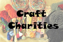 Craft Charities / Do you love making blankets, cards, and clothing for those in need? Crafting for charity is a great way to use up your craft stash and extra yarn while helping those in need. You'll get great info on what these amazing organizations do and how you can get involved.