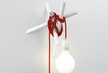 Wall mounted pendants/bulb