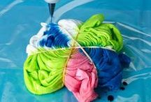 Tie Dye Techniques and Tutorials / Tie Dye Techniques, easy tie dye techniques, easy tie dye instructions, spiral tie dye, cool tie dye patterns, steps to tie dye, things to tie dye, tie dye how to, rainbow tie dye, tie dye pattern, tie dye shirts diy, fabric dyeing techniques, different ways to tie dye shirts, heart tie dye, how to do tie dye, tie dye designs, tie dye patterns, how to tie dye shirts, tie dye instructions, how to make tie dye shirts, tie dye folding techniques / by FaveCrafts