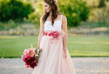 Untraditional Bride / untraditional bridal style: short dresses, boho, etc. / by Angelina Scianna