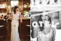 Gatsby Bride / Sparkles, sequins, twenties inspired gowns / by Angelina Scianna