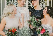 Bridesmaids Beauty / Dresses that are actually pretty/bridesmaid looks / by Angelina Scianna