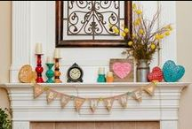 Home Decor Ideas / Use your craft supplies to create fun and fabulous DIY home decor!