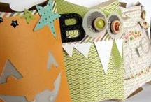 Halloween Crafts Ideas / Not so spooky and full of great treats! Fun Halloween Crafts Ideas.