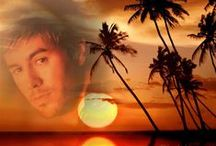 Enrique - Look at beautiful sunset!